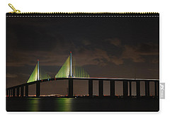 Sunshine Skyway Bridge Carry-all Pouch