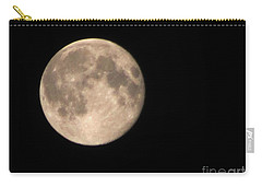 Carry-all Pouch featuring the photograph Super Moon by David Millenheft