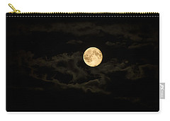 Super Moon Carry-all Pouch by Spikey Mouse Photography