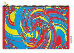 Super Swirl Carry-all Pouch by Catherine Lott