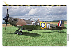 Supermarine Spitifire 1a Carry-all Pouch by Paul Gulliver
