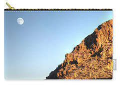 Carry-all Pouch featuring the photograph Superstition Mountain by Lynn Geoffroy
