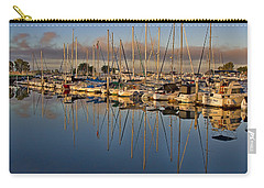 Carry-all Pouch featuring the photograph Sur La Mer by Gary Holmes