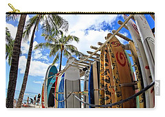 Surf And Sun Waikiki Carry-all Pouch