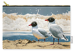 Surf 'n' Turf - Franklin's Gulls Carry-all Pouch
