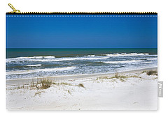 Surf On The Beach, St. Joseph Peninsula Carry-all Pouch by Panoramic Images