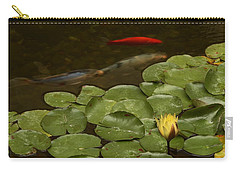 Carry-all Pouch featuring the photograph Surface Tension by Michael Gordon