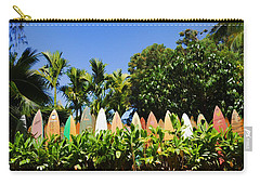 Surfboard Fence - Left Side Carry-all Pouch