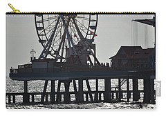 Surfer And Lovers At Pleasure Pier Carry-all Pouch