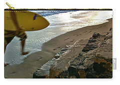 Surfer In Motion Carry-all Pouch