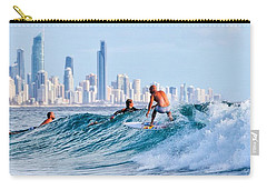 Surfing Burleigh Carry-all Pouch