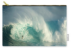 Surfing Jaws 3 Carry-all Pouch by Bob Christopher