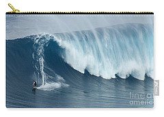 Surfing Jaws 5 Carry-all Pouch by Bob Christopher