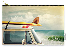 Surfing Way Of Life Carry-all Pouch