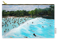 Carry-all Pouch featuring the photograph Surfs Up by David Nicholls