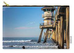 Surf's Up Carry-all Pouch by Tammy Espino