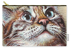 Watercolor Pet Portraits Carry-All Pouches
