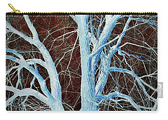 Surreal Blue Tree Carry-all Pouch