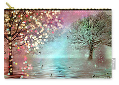 Fairytale Fantasy Trees Surreal Dreamy Twinkling Sparkling Fantasy Nature Trees Home Decor Carry-all Pouch
