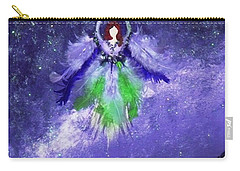 Carry-all Pouch featuring the painting Survivor by Alys Caviness-Gober