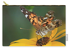 Susan Painted Lady Carry-all Pouch