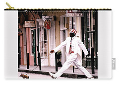 New Orleans Suspended Animation Of A Mime Carry-all Pouch