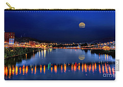 Suspension Bridge Wheeling Wv Panoramic Carry-all Pouch