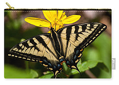 Swallowtail Butterfly Carry-all Pouch by Jack Bell