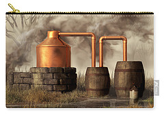 Swamp Moonshine Still Carry-all Pouch by Daniel Eskridge
