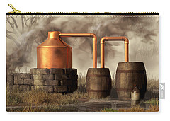 Swamp Moonshine Still Carry-all Pouch