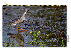 Swamp Strutting Carry-all Pouch by Liz Masoner