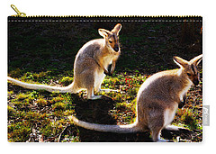 Swamp Wallabies Carry-all Pouch by Miroslava Jurcik