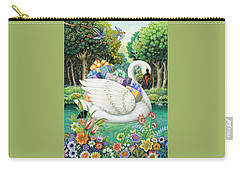Swan Boat Carry-all Pouch