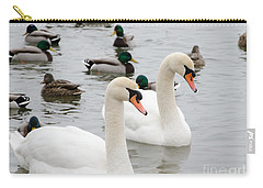 Swan Couple Carry-all Pouch