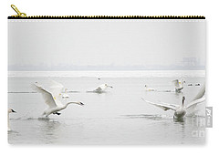 Swan Fight Carry-all Pouch