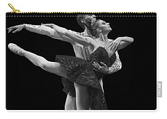 Swan Lake  Black Adagio  Russia  Carry-all Pouch by Clare Bambers
