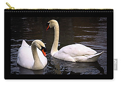 Swan Two Carry-all Pouch