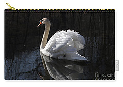 Swan With Reflection  Carry-all Pouch
