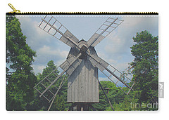 Carry-all Pouch featuring the photograph Swedish Old Mill by Sergey Lukashin