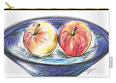 Sweet Crunchy Apples Carry-all Pouch by Teresa White