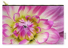 Sweet Dahlia Carry-all Pouch by Sami Martin