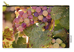 Sweet Grapes Carry-all Pouch by Ana V Ramirez