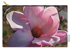 Carry-all Pouch featuring the photograph Sweet Magnolia by Dora Sofia Caputo Photographic Art and Design