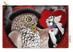 Sweet Sweethearts Carry-all Pouch by Carol Jacobs