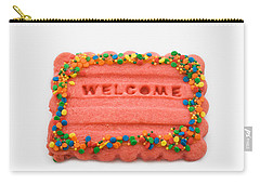 Sweet Welcome Mat Carry-all Pouch