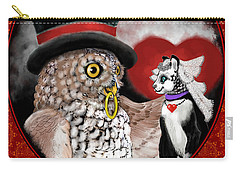 Sweethearts Carry-all Pouch by Carol Jacobs