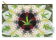 Sweetleaf Mandala Carry-all Pouch