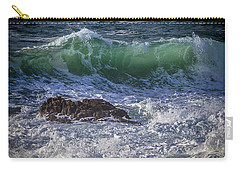 Swells In Doninos Beach Galicia Spain Carry-all Pouch