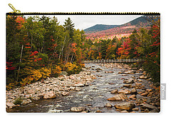 Swift River Painted With Autumns Paint Brush Carry-all Pouch