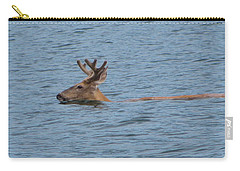 Swimming Deer Carry-all Pouch